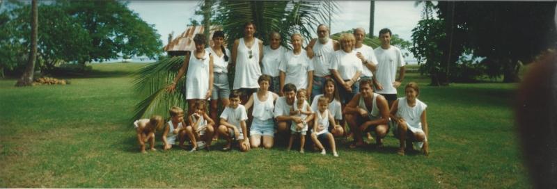 Photo de famille au PK 18