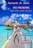 Association Heivanui<br>Spectacle de danses polynésiennes suivi d'une soirée dansante @ Salle Quai 9