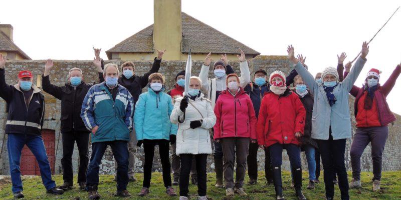 RTT-Noël avec soutien au téléthon le 19 décembre 2020 (Fort du Loch)
